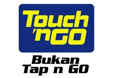 Touch n Go, Bukan Tap n Go