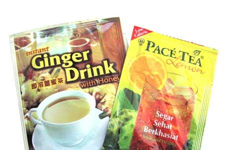 Air Halia dan Pace Tea