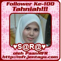 Anugerah Follower Ke-100