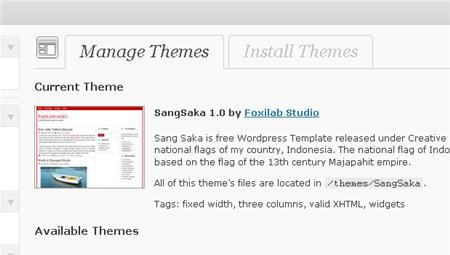 Fungsi Baru Dalam WordPress 3.0 - Tabs Besar