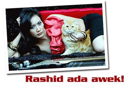 Rashid dah ada awek baru!