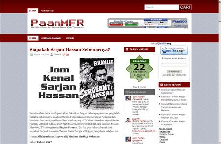 Kulit Blog PaanMFR