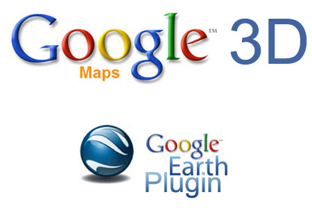 Google Maps 3D dengan Google Earth Plugin