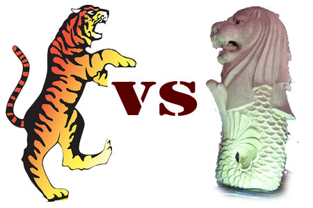 Harimau Lawan Singa