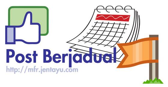 Post Berjadual